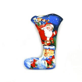 Beautiful Santa Christmas stocking with Father Christmas