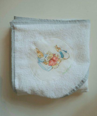 Peter Rabbit hooded towel