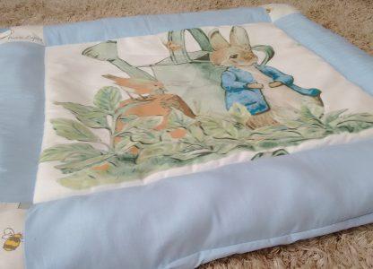 Peter rabbit baby play mat in blue