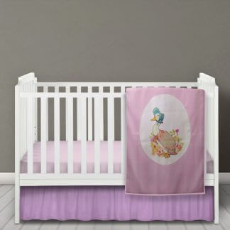 Jemima puddle duck baby fleece blanket