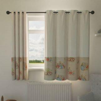 Beatrix Potter nursery curtains