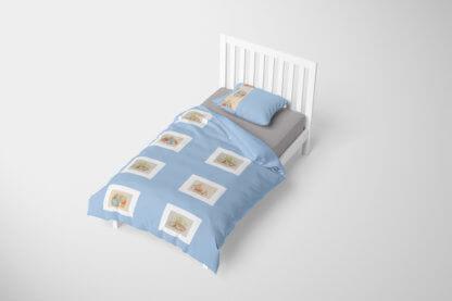 Beatrix Potter toddler duvet set,
