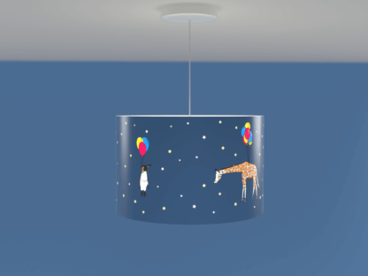 Animal themed lampshade