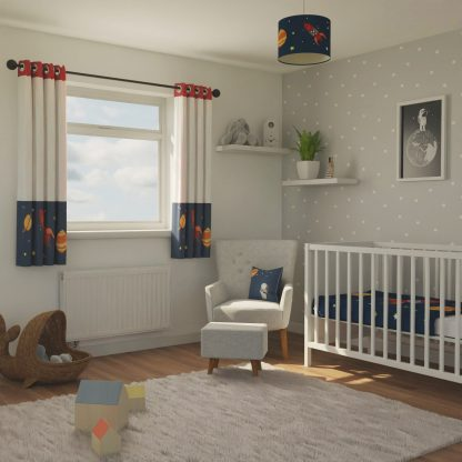 Space themed nursery