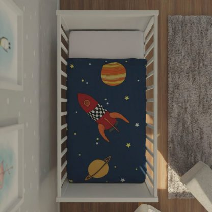 Babies space themed quilt