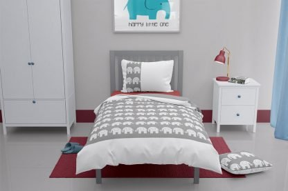 Elephant toddler duvet