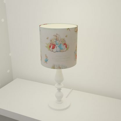Beatrix Potter lampshade