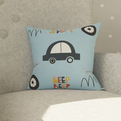 Car themed cushion
