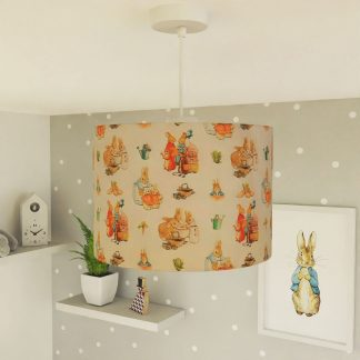Peter Rabbit lampshade