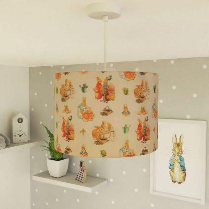 Peter Rabbit lampshade