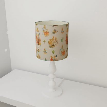 Peter Rabbit table lampshade