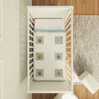 Peter Rabbit nursery quilt