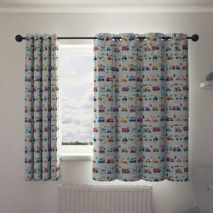 Transport curtains